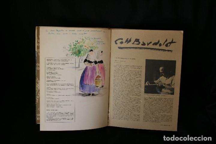 Arte: COLL BARDOLET, DIBUJO EN LA PRIMERA PAGINA DEL LIBRO, DEDICADO Y FIRMADO, VALLDEMOSA 1977. - Foto 4 - 184522153