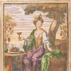 Arte: ESCUELA FRANCESA S.XVII - COLECCIÓN DE 4 GRABADOS FRANCESES DEL SIGLO XVIII.. Lote 184620922