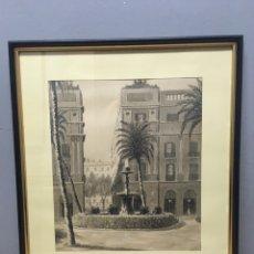 Arte: ACUARELA FIRMADA POR JOSÉ CABRER BORRELL. Lote 184690687