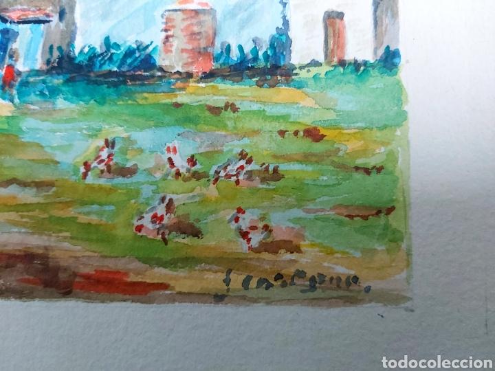 Arte: ACUARELA J. CARDONA AÑ9S 40 - Foto 2 - 184867738