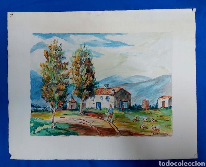 Arte: ACUARELA J. CARDONA AÑ9S 40 - Foto 4 - 184867738