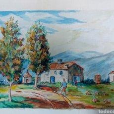 Arte: ACUARELA J. CARDONA AÑ9S 40. Lote 184867738