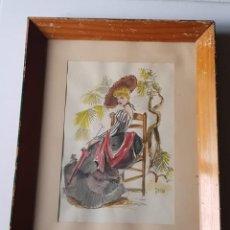 Arte: JOSÉ LUIS FLORIT RODERO - DAMA. Lote 185899295