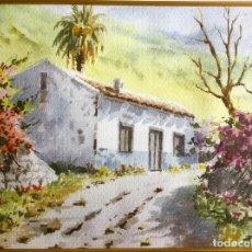 Arte: PAISAJE ISLEÑO DEL PINTOR CANARIO PACO RUÍZ. Lote 188795800