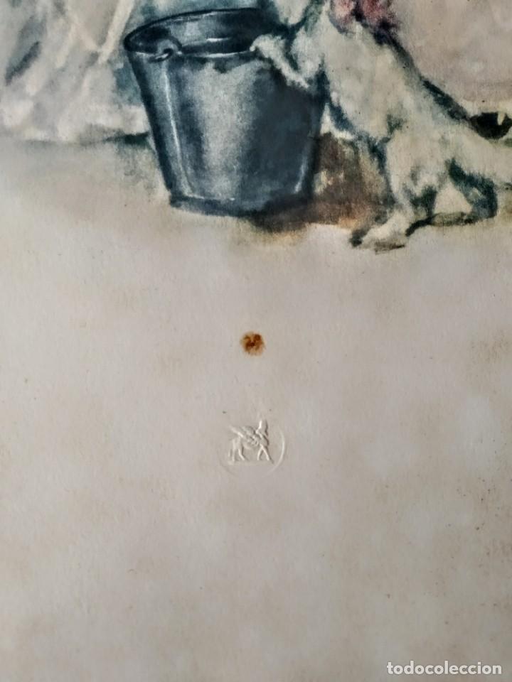 Arte: Acuarela o litografía del siglo 19 - Foto 2 - 189252016
