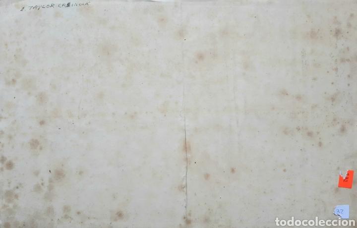 Arte: Acuarela firmada E.Taylor Larinock Escuela Inglesa . - Foto 5 - 189725896