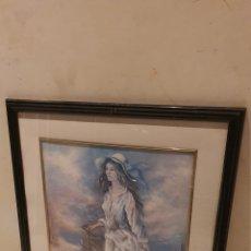 Arte: PRECIOSA ACUARELA CON FIRMA A IDENTIFICAR. Lote 189839586