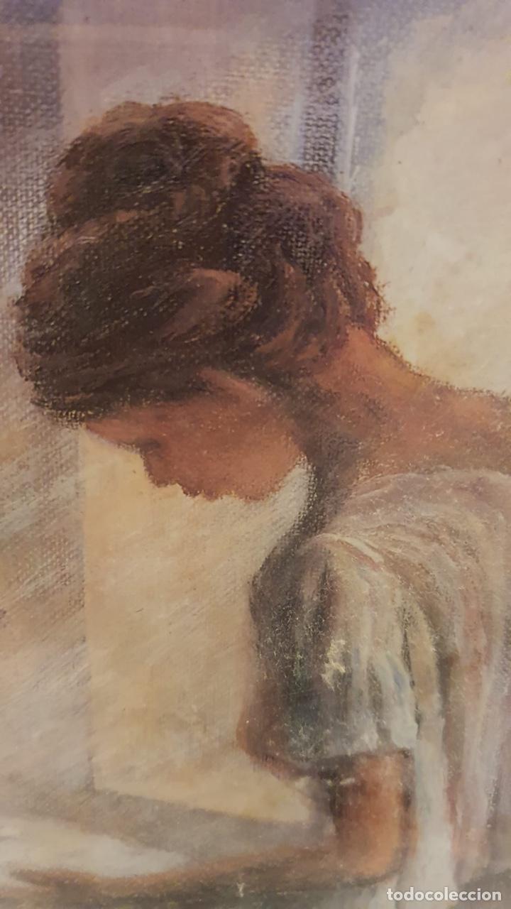 Arte: Preciosa acuarela con firma a identificar - Foto 2 - 189839827