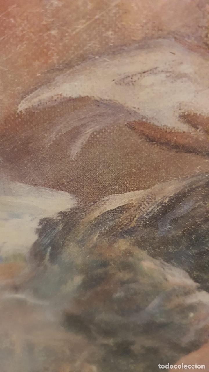 Arte: Preciosa acuarela con firma a identificar - Foto 3 - 189839827