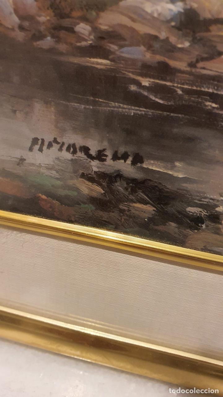 Arte: Preciosa acuarela con firma a identificar - Foto 7 - 189839988