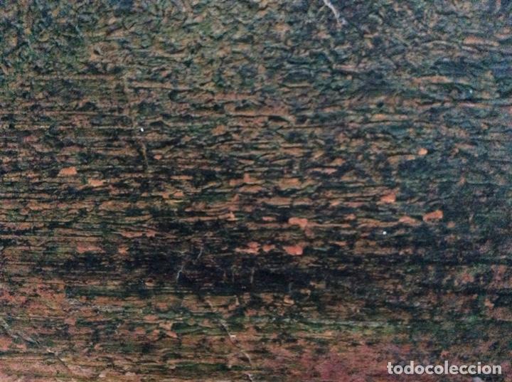 Arte: Acrílico antiguo caballos 48cmx34cm. - Foto 2 - 190016610