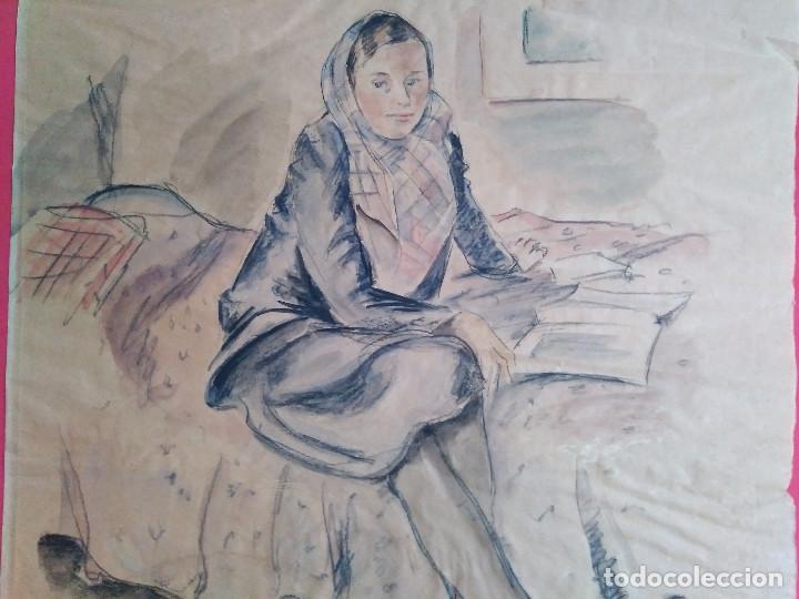 LENE SCHNEIDER-KAINER (Arte - Acuarelas - Contemporáneas siglo XX)