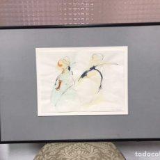 Arte: ACUARELA FIRMADA POR JULIA NAVALÓN. Lote 190214200