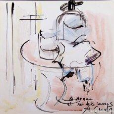 Arte: AMADEU CASALS - ACUARELA SOBRE PAPEL. Lote 190230107