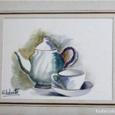 Arte: TETERA OBRA DE GILABERTE . Lote 190589470