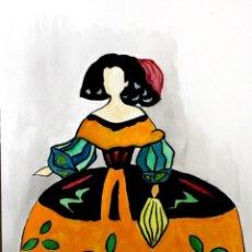 Arte: MENINAS OBRA DE GILABERTE. Lote 190589972