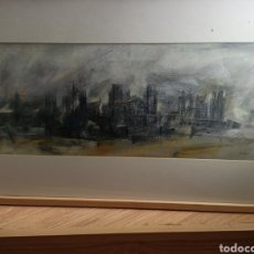 Arte: SALVADOR MONTESA CIUDAD GOTICA 1997. Lote 191265852