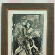 Arte: ACUARELA JORDI SARRÁ I RABASCALL (VILASECA 1935-REUS 1990). Lote 191530513