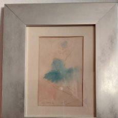 Arte: ACUARELA JORDI SARRA RABASCALL (VILADECANS 1935-REUS 1990). BAILARINA. Lote 191628666