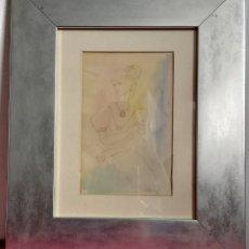 Arte: ACUARELA JORDI SARRA RABASCALL (VILADECANS 1935-REUS 1990). BAILARINA. Lote 191629013