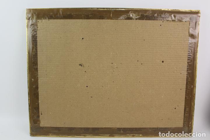 Arte: C-975. ACUARELA SOBRE PAPEL, PAISAJE. FIRMADO F. AMAT K. 1989. - Foto 8 - 191761356