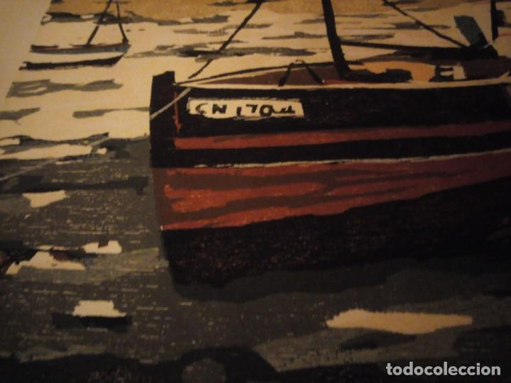 Arte: Acuarela barcos pesqueros,127/130, tellapon j. 82 - Foto 6 - 191838100