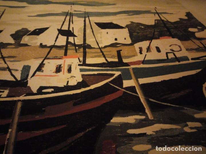 Arte: Acuarela barcos pesqueros,127/130, tellapon j. 82 - Foto 7 - 191838100