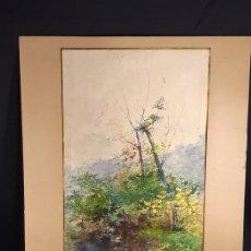 Arte: PAISAJE. ACUARELA. FIRMADO. SIGLO XIX-XX.. Lote 191867837