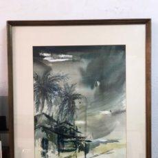 Arte: ACUARELA FIRMADA POR ESTERTI. Lote 192229868