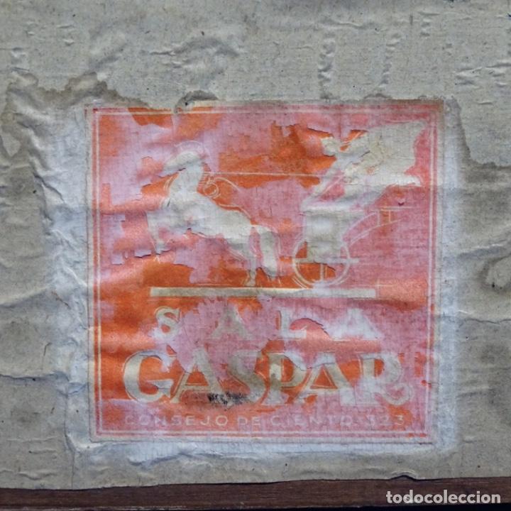 Arte: Excelente Acuarela de Joan Colom i agusti (Arenys de mar 1879-bcn 1969).Sala Gaspar. - Foto 18 - 192757303