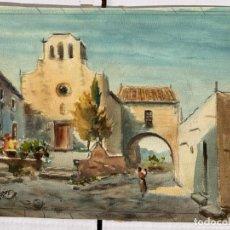 Arte: FELIP BRUGUERAS PALLACH - PAISAJE RURAL. Lote 192929071