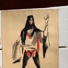 Arte: MANUEL MUNTAÑOLA TEY - PERSONAJE. Lote 192929325