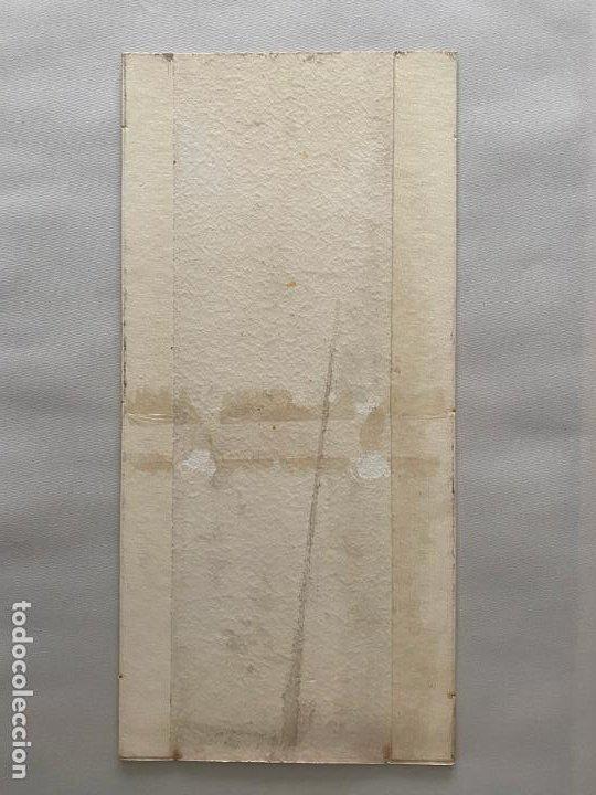 Arte: ACUARELA ORIGINAL PARA ETIQUETAS DE PASAS DE MÁLAGA , OBRA SIN FIRMAR , - Foto 3 - 194011850