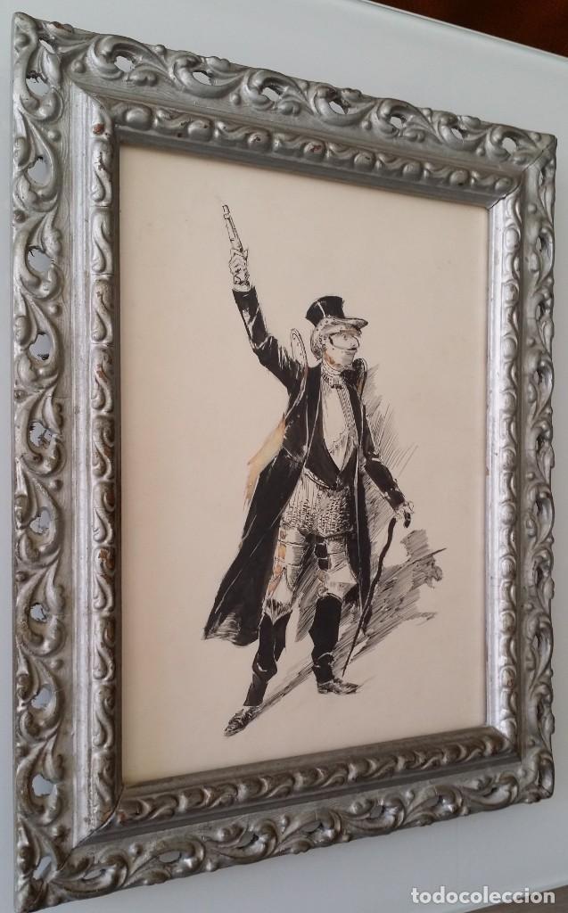 Arte: José ROY: dibujo a pluma y gouache, 1895 - Foto 2 - 194117903