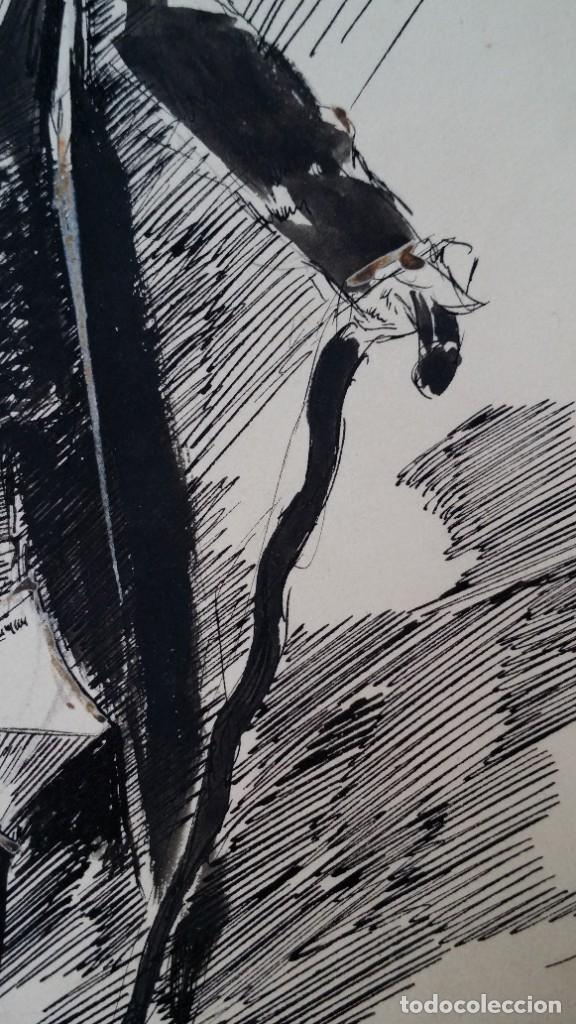 Arte: José ROY: dibujo a pluma y gouache, 1895 - Foto 10 - 194117903