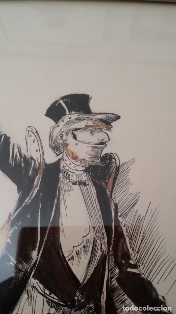 Arte: José ROY: dibujo a pluma y gouache, 1895 - Foto 11 - 194117903