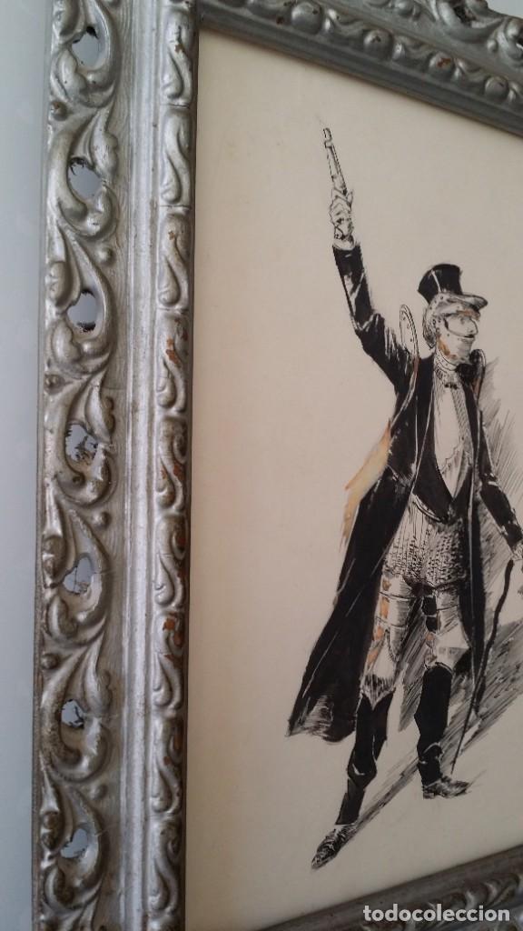 Arte: José ROY: dibujo a pluma y gouache, 1895 - Foto 12 - 194117903