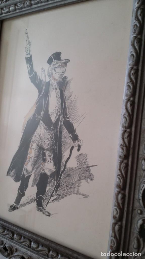 Arte: José ROY: dibujo a pluma y gouache, 1895 - Foto 13 - 194117903