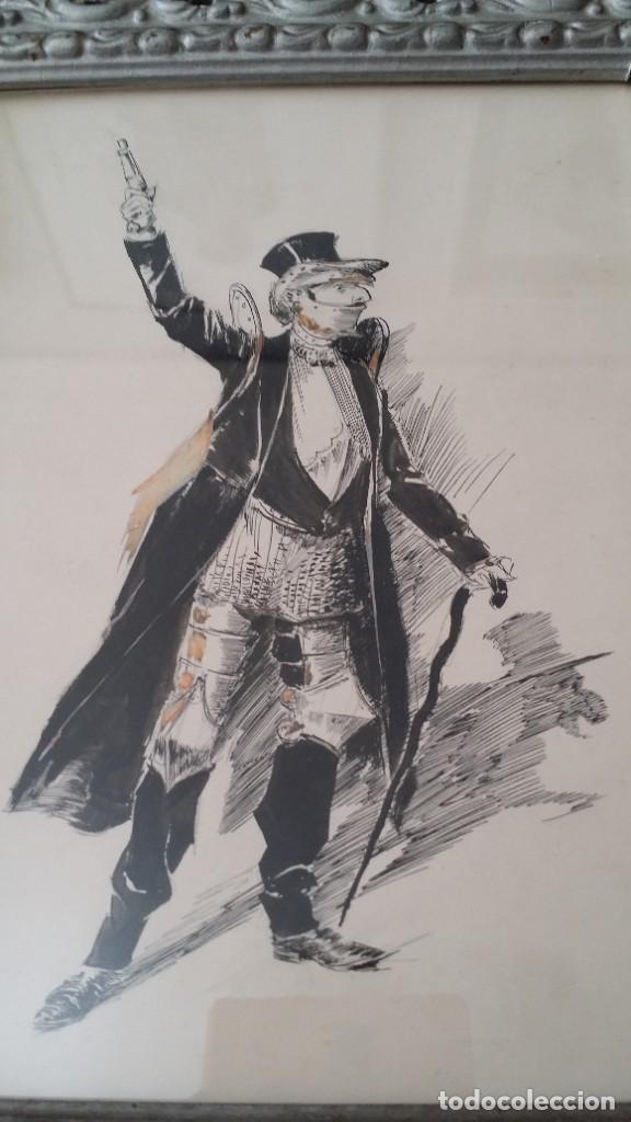 Arte: José ROY: dibujo a pluma y gouache, 1895 - Foto 14 - 194117903