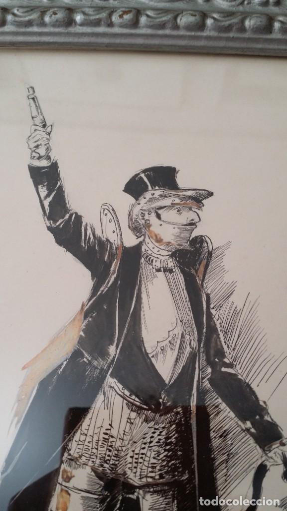 Arte: José ROY: dibujo a pluma y gouache, 1895 - Foto 15 - 194117903