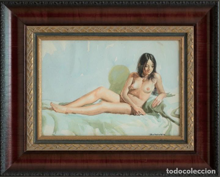Arte: Desnudo Chica, Burguete - Foto 2 - 194162908