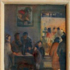 Arte: DIAMANTINO RIERA (1912-PARIS 1961). ACUARELA/PAPEL 38 X 30 CM. FIRMADA. AÑOS 30. CON MARCO.. Lote 194163553