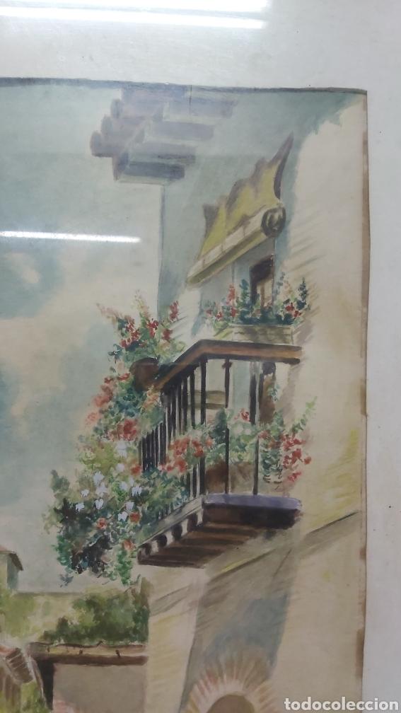 Arte: ACUARELA DE 1953 FIRMADA XARRIE - Foto 5 - 194167020