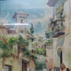 Arte: ACUARELA DE 1953 FIRMADA XARRIE. Lote 194167020