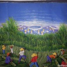 Arte: CUADRO PINTADO A MANO Y FIRMADO. Lote 194203891