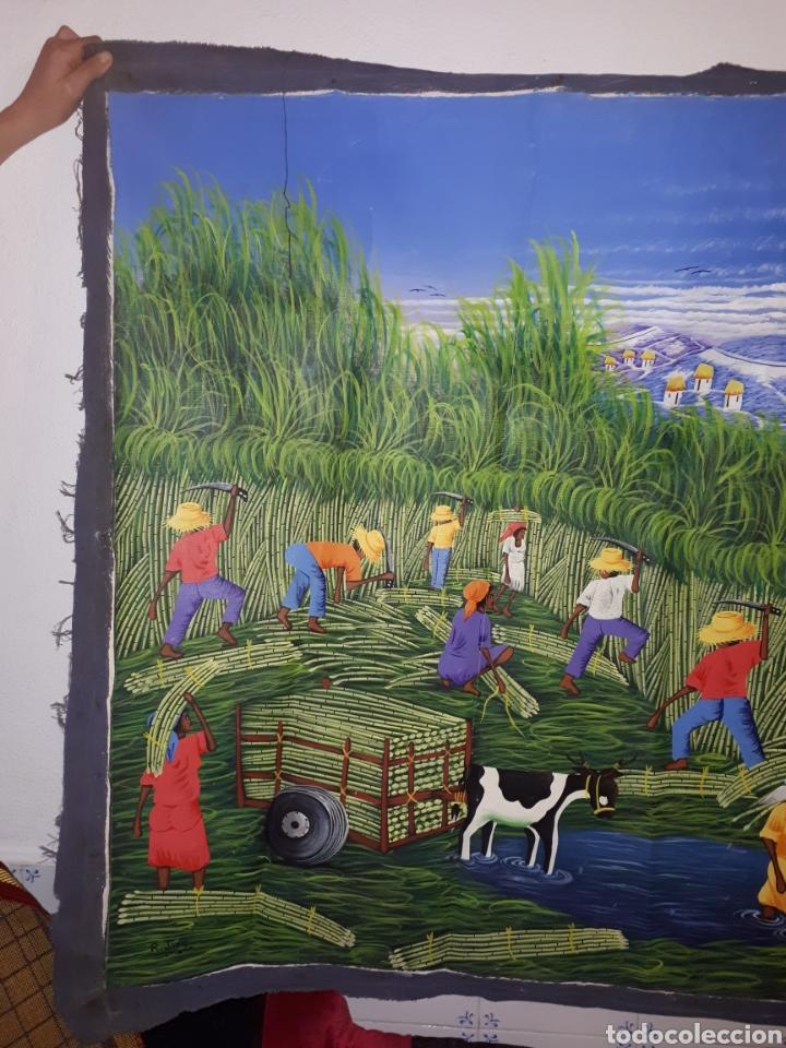 Arte: Cuadro pintado a mano y firmado - Foto 5 - 194203891