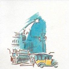 Arte: NADAL 1948. EXEMPLAR DESTINAT AL POETA TOMÀS GARCÉS. AUTOR: J. COMMELERAN (1902-1992). 14X11CM. Lote 194269186