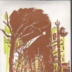 Arte: NADAL 1956. EXEMPLAR D' OFRENA AL POETA TOMÀS GARCÉS. AUTOR: J. COMMELERAN (1902-1992). 25X17CM. Lote 194270230
