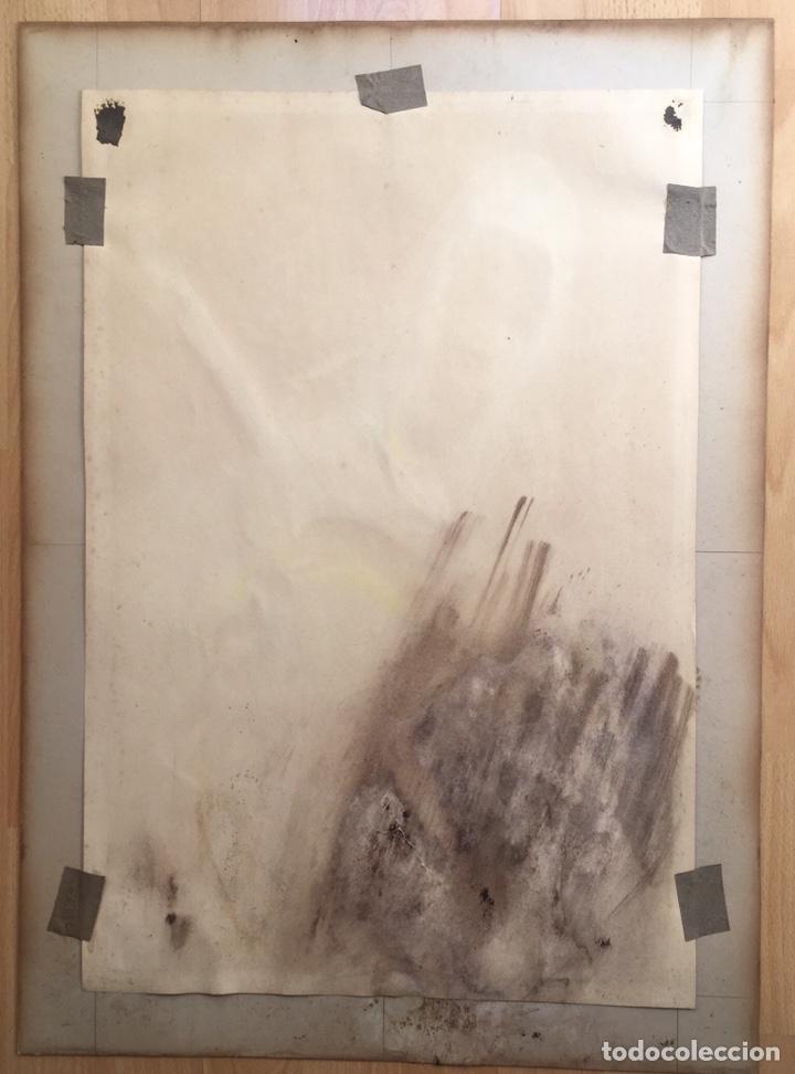 Arte: JULIO GARCÍA GUTIÉRREZ (París, 1882-Barcelona, 1966). Manola 50x49cm - Foto 10 - 194284641
