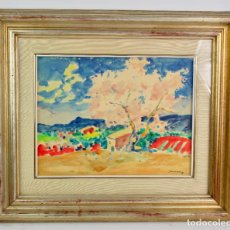 Arte: ACUARELA SOBRE PAPEL, FIRMADA SANVICENS S.XX.. Lote 194708707